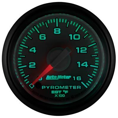 "Auto Meter - AutoMeter Dodge 3rd Gen Factory Match Digital 2-1/16"" 0-1600°F Pyrometer - Image 2"