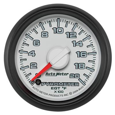 "Auto Meter - AutoMeter Dodge 3rd Gen Factory Match Digital 2-1/16"" 0-2000°F Pyrometer"