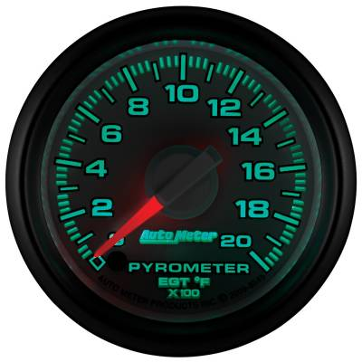 "Auto Meter - AutoMeter Dodge 3rd Gen Factory Match Digital 2-1/16"" 0-2000°F Pyrometer - Image 2"