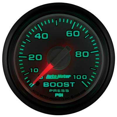 "Auto Meter - AutoMeter Dodge 3rd Gen Factory Match Mechanical 2-1/16"" 0-100 PSI Boost - Image 2"