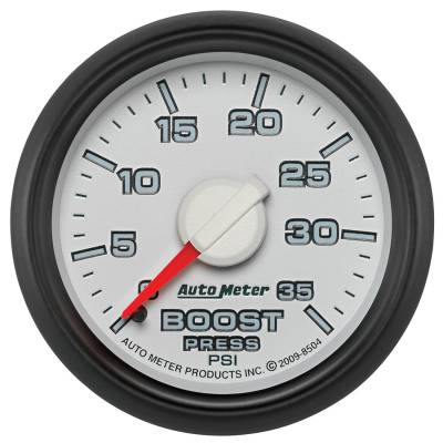 "Auto Meter - AutoMeter Dodge 3rd Gen Factory Match Mechanical 2-1/16"" 0-35 PSI Boost"