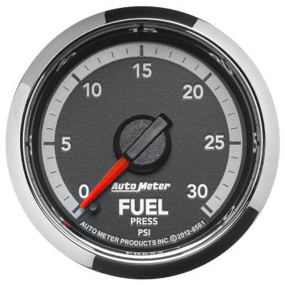 "Auto Meter - AutoMeter Dodge 4th Gen Factory Match Digital 2-1/16"" 0-30 PSI Fuel Pressure"