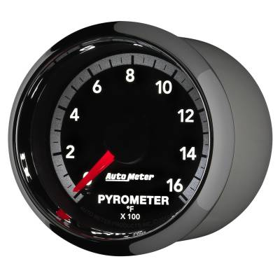 "Auto Meter - AutoMeter Dodge 4th Gen Factory Match Digital 2-1/16"" 0-1600°F Pyrometer - Image 2"
