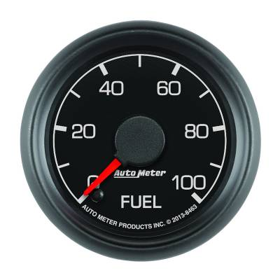 """Auto Meter - AutoMeter Ford Factory Match Digital 2-1/16"""" 0-100 PSI Fuel Pressure"""