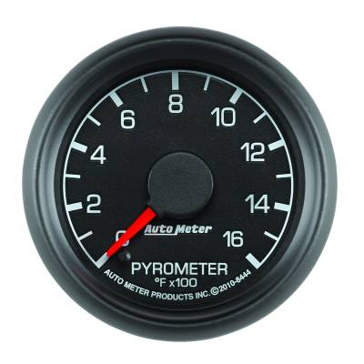 "Instrument Clusters/Gauges - Gauges - Auto Meter - AutoMeter Ford Factory Match Digital 2-1/16"" 0-1600°F Pyrometer"