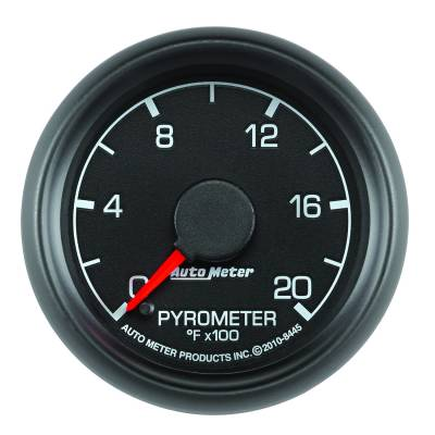 """Auto Meter - AutoMeter Ford Factory Match Digital 2-1/16"""" 0-2000°F Pyrometer"""