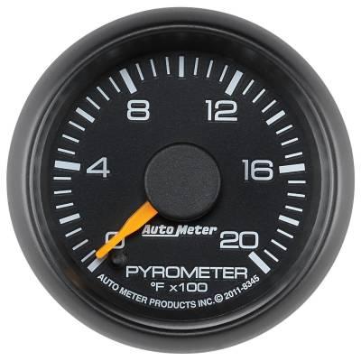 "Auto Meter - AutoMeter GM/Chevy Factory Match Digital 2-1/16"" 0-2000°F Pyrometer"