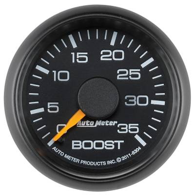 """Auto Meter - AutoMeter GM/Chevy Factory Match Mechanical 2-1/16"""" 0-35 PSI Boost"""