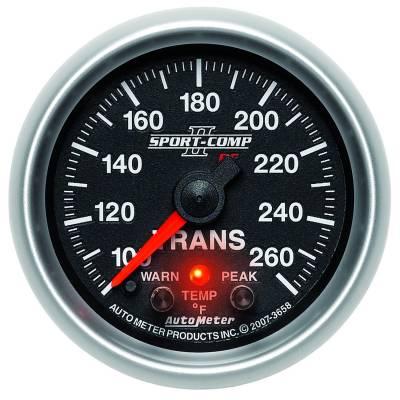 "AutoMeter Sport-Comp II Digital 2-1/16"" 100-260°F Transmission Temperature"