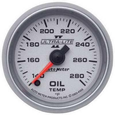 """AutoMeter Ultra-Lite II Digital 2-1/16"""" 140-280°F Oil Temperature"""
