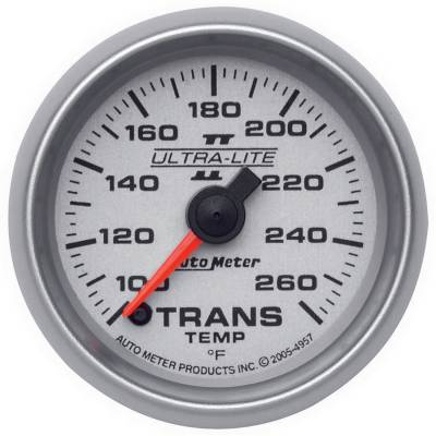 "Instrument Clusters/Gauges - Gauges - Auto Meter - AutoMeter Ultra-Lite II Digital 2-1/16"" 100-260°F Transmission Temperature"