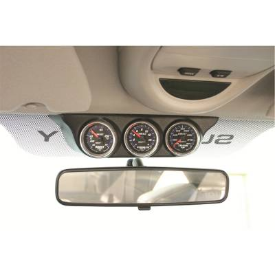 Auto Meter - AutoMeter Dodge Ram 03-08/ Super Duty Ford 99-04 Overhead Console Triple Gauge Mount