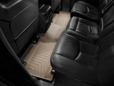Interior Accessories - Accessories - WeatherTech - WeatherTech 2001-2003 Chevrolet/GMC Crew Cab Floor Liner 2nd Row-Tan