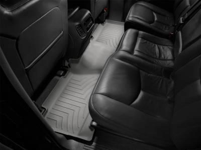 WeatherTech - WeatherTech 2001-2003 Chevrolet/GMC Crew Cab Floor Liner 2nd Row-Grey