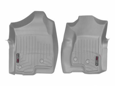 WeatherTech - WeatherTech 2001-2007 Chevrolet/GMC Extended Cab Floor Liner 1st Row-Grey