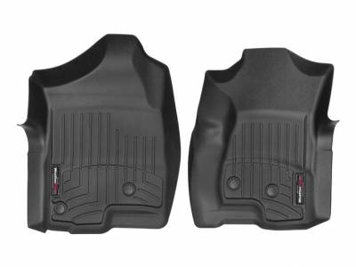 Interior Accessories - Accessories - WeatherTech - WeatherTech 2001-2007 Chevrolet/GMC Extended Cab Floor Liner 1st Row-Black