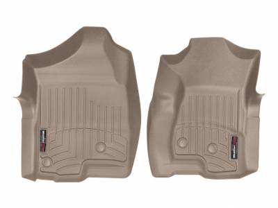 Interior Accessories - Accessories - WeatherTech - WeatherTech 2001-2007 Chevrolet/GMC Extended Cab Floor Liner 1st Row-Tan