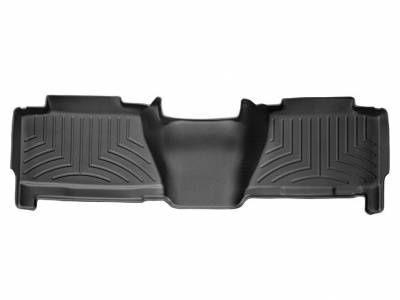 Interior Accessories - Accessories - WeatherTech - WeatherTech 2004-2007 Chevrolet/GMC Crew Cab Floor Liner 2nd Row-Black