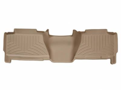 Interior Accessories - Accessories - WeatherTech - WeatherTech 2004-2007 Chevrolet/GMC Crew Cab Floor Liner 2nd Row-Tan