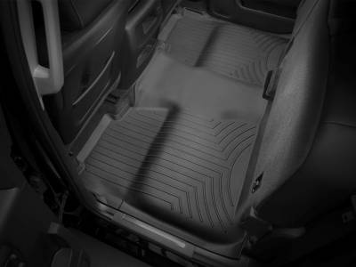 Interior Accessories - Accessories - WeatherTech - WeatherTech 2015-2016 Chevrolet/GMC Crew Cab Floor Liner 2nd Row Underseat Coverage-Black
