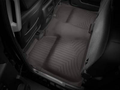 Interior Accessories - Accessories - WeatherTech - WeatherTech 2015-2016 Chevrolet/GMC Crew Cab Floor Liner 2nd Row Underseat Coverage-Cocoa