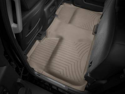 Interior Accessories - Accessories - WeatherTech - WeatherTech 2015-2016 Chevrolet/GMC Crew Cab Floor Liner 2nd Row Underseat Coverage-Tan