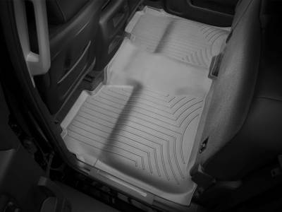 Interior Accessories - Accessories - WeatherTech - WeatherTech 2015-2016 Chevrolet/GMC Crew Cab Floor Liner 2nd Row Underseat Coverage-Grey