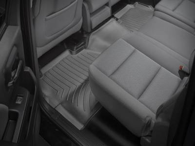 Interior Accessories - Accessories - WeatherTech - WeatherTech 2015-2016 Chevrolet/GMC Crew Cab Floor Liner 2nd Row-Black