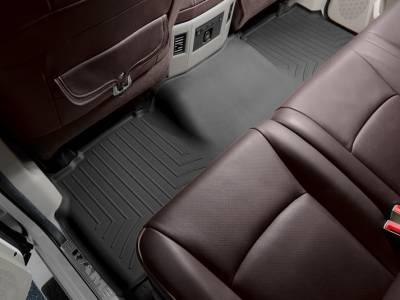 Interior Accessories - Accessories - WeatherTech - WeatherTech 2010-2017 Dodge Ram Mega Cab Floor Liner 2nd Row-Black