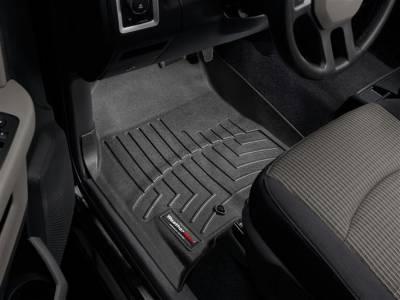 Interior Accessories - Accessories - WeatherTech - WeatherTech 2009-2012 Dodge Ram Crew Cab Floor Liner 1st Row-Black