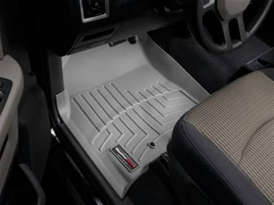 Interior Accessories - Accessories - WeatherTech - WeatherTech 2009-2012 Dodge Ram Crew Cab Floor Liner 1st Row-Grey