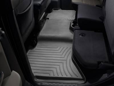 Interior Accessories - Accessories - WeatherTech - WeatherTech 2009-2017 Dodge Ram Crew Cab Floor Liner 2nd Row-Black