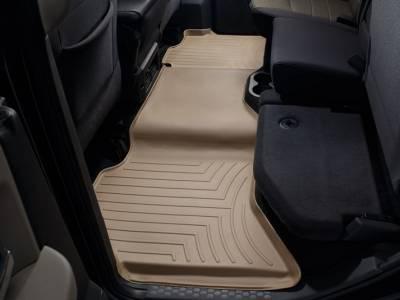 Interior Accessories - Accessories - WeatherTech - WeatherTech 2009-2017 Dodge Ram Crew Cab Floor Liner 2nd Row-Tan