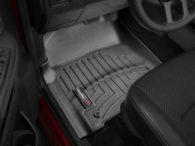 Interior Accessories - Accessories - WeatherTech - WeatherTech 2012-2017 Dodge Ram Floor Liner 1st Row-Black (Driver & Passenger-Side Floor Hooks)