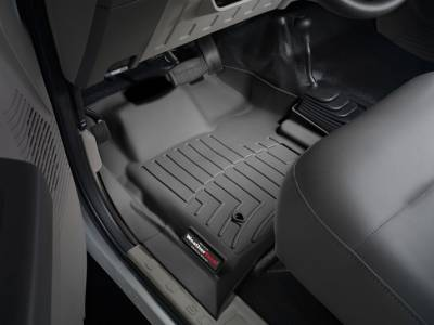 WeatherTech - WeatherTech 2008-2010 Ford Floor Liner 1st Row-Black- with 4X4 Floor Shifter