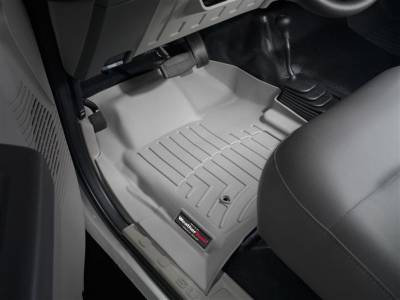 WeatherTech - WeatherTech 2008-2010 Ford Floor Liner 1st Row-Grey- with 4X4 Floor Shifter