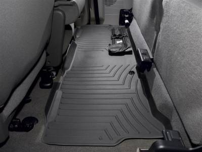 Interior Accessories - Accessories - WeatherTech - WeatherTech 1999-2010 SuperCab Ford Floor Liner 2nd Row-Black