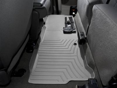 Interior Accessories - Accessories - WeatherTech - WeatherTech 1999-2010 SuperCab Ford Floor Liner 2nd Row-Grey