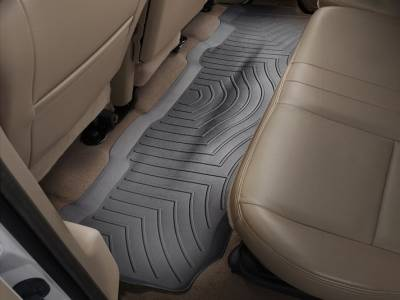 WeatherTech - WeatherTech 1999-2010 SuperCrew Ford Floor Liner 2nd Row-Black