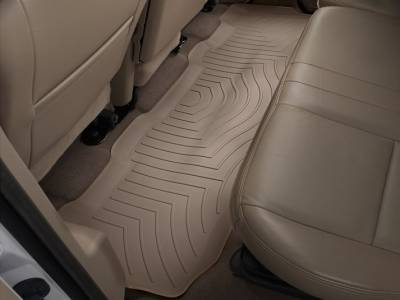 Interior Accessories - Accessories - WeatherTech - WeatherTech 1999-2010 SuperCrew Ford Floor Liner 2nd Row-Tan