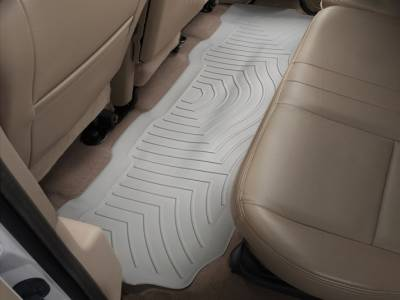 WeatherTech - WeatherTech 1999-2010 SuperCrew Ford Floor Liner 2nd Row-Grey