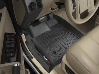 WeatherTech - WeatherTech 2008-2010 SuperCab Ford Floor Liner 1st Row-Black