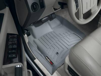 WeatherTech - WeatherTech 2008-2010 SuperCab Ford Floor Liner 1st Row-Grey