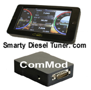 07.5-16 Common Rail 6.7 - Tuners and Programmers - Smarty - Smarty Touch Programmer and Display With ComMod 2013-2016 6.7L Cummins
