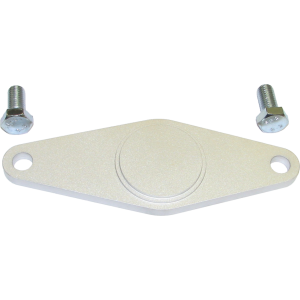 98.5-02 24V 5.9 - Cooling System - Industrial Injection  - Industrial Injection 98.5-02 Cummins 4BT Freeze Plug Retaining Plate (No O-Ring)
