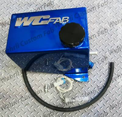 06-07 LBZ Duramax - Cooling System - WCFab - WCFab 01-07 LB7, LLY, LBZ OEM Placement Coolant Tank Kit