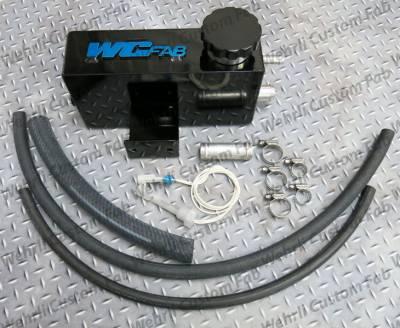 06-07 LBZ Duramax - Cooling System - WCFab - WCFab 01-07 LB7, LLY, LBZ Twin Turbo Coolant Tank Kit