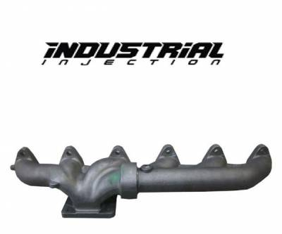 Industrial Injection  - Industrial Injection 2003-2007 5.9L Dodge Commonn Rail 2 Piece Manifold