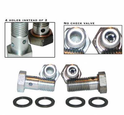 River City Diesel - RCD 03-07 6.0 Powerstroke Banjo Bolt Upgrade Kit