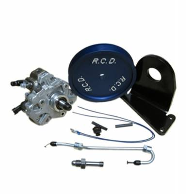 River City Diesel - RCD 08-10 6.4 Powerstroke Dual CP3 Injection Pump Kit w/pump